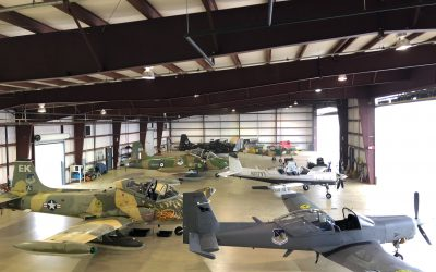 Blue Air Training, nation's only civilian weaponized Air Force, makes Pensacola its newest home