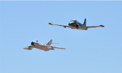 Blue Air supports the Davis-Monthan AFB airshow Aviation Nation