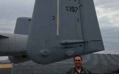 "James ""Chef"" Barlow's Fini Flight for the 47th Fighter Squadron"