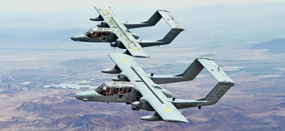Blue Air Training Acquires Legendary OV-10D+ Broncos to support JTAC training missions