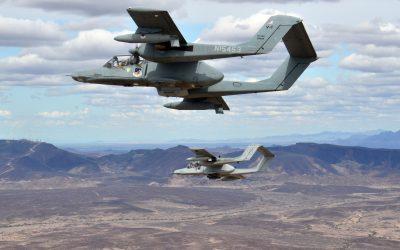 Warbird News: Blue Air Training Acquires Seven OV-10 Broncos
