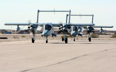 The Drive:  The Bronco Is Back! A Fleet Of OV-10s Will Help Train Air Force Forward Air Controllers